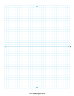 Printable Graph Paper With Axis – Madison's Paper TemplatesPrintable Graph Paper With Axis
